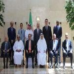 سفير المملكة لدى الأردن يلتقي بسفراء المجموعة العربية