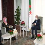 الرئيس الجزائري يستقبل سمو وزير الخارجية