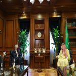 وزير الدولة للشؤون الخارجية يستقبل السفير الفرنسي لدى المملكة