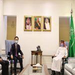 نائب وزير الخارجية يستقبل سفير جمهورية الصين الشعبية لدى المملكة