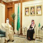 سمو وزير الخارجية يستقبل الأمين العام لمجلس التعاون