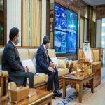 نائب وزير الداخلية يستقبل سفير أفغانستان لدى المملكة
