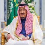 خادم الحرمين الشريفين يهنئ رئيس دولة الإمارات العربية المتحدة بذكرى اليوم الوطني لبلاده