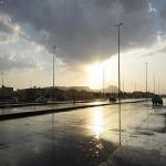 أمطار خفيفة إلى متوسطة على المدينة المنورة