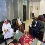وزير الاستثمار السوداني يستقبل سفير المملكة لدى الخرطوم