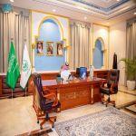 سمو أمير الجوف يؤكد أهمية المبادرة بأخذ لقاح كورونا