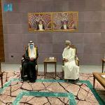 السفير العنزي يُباشر مهام عمله سفيراً لخادم الحرمين الشريفين لدى سلطنة عُمان