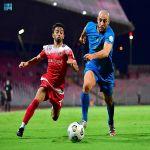 مواجهة الوحدة والنصر تنتهي بالتعادل الإيجابي في دوري كأس الأمير محمد بن سلمان للمحترفين
