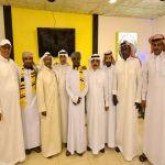 احتفاء  مجلس جمهور الاتحاد بالطائف بمشجعي سلطنة عمان