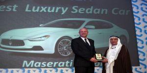 Maserati Ghibli awarded best luxury sedan in Saudi Arabia