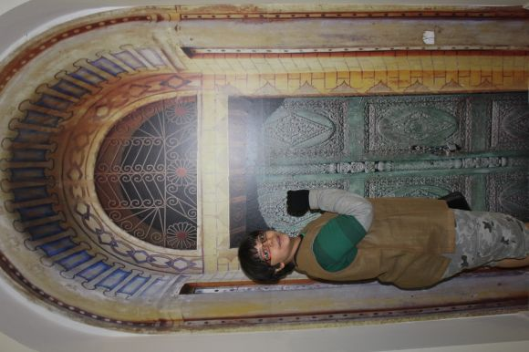 جانب من جناح أمانة مكة المكرمة ضمن فعاليات سوق عكاظ